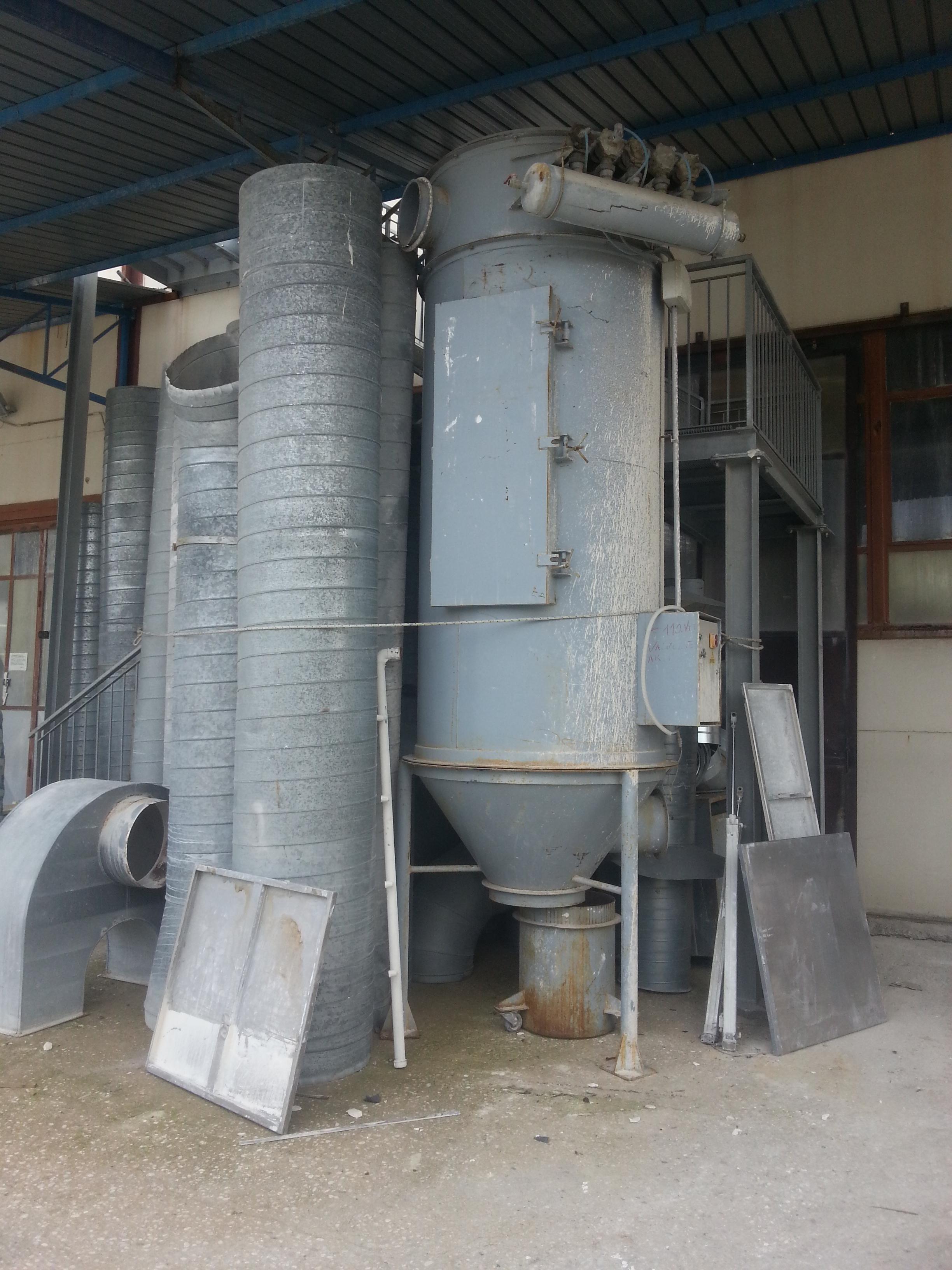 Abbattitore di polveri industriali aldero industrial for Abbattitore usato